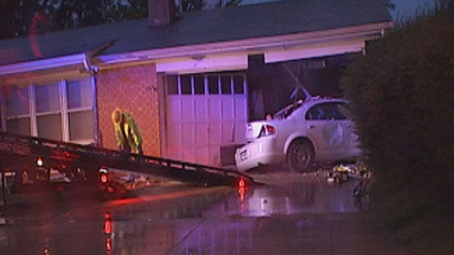 Police Seek Driver Who Crashed Car Into MWC House