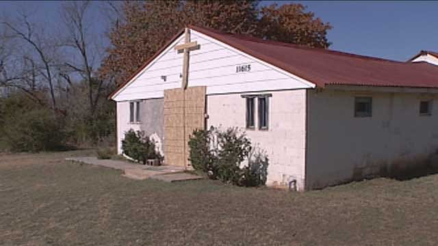 Congregation Keeps The Faith After Church Vandalized In Spencer