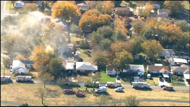 Crews Extinguish House Fire In Southwest OKC Fire