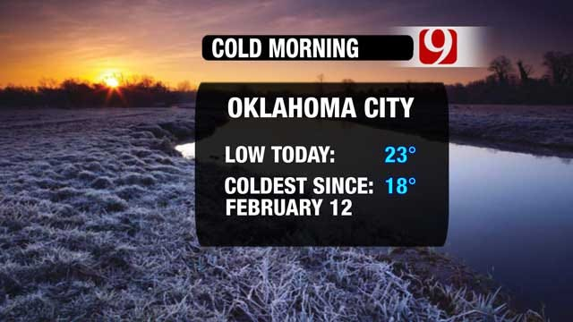Now That's A Cold Front!