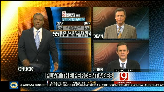 Play The Percentages: November 11, 2012