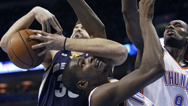 Grizzlies Use Huge Second Quarter To Maul Thunder