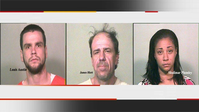 Three Arrested Following Short Chase In Northwest OKC