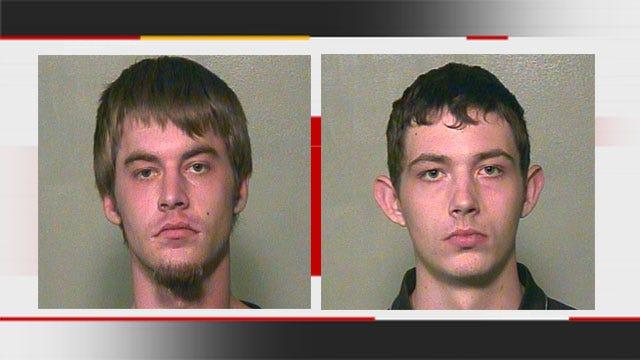 Surveillance Camera Records Suspect Allegedly Burglarizing Neighbor's OKC Home