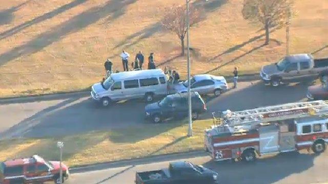 Crews Respond To Crash Involving Child Care Van In SW OKC