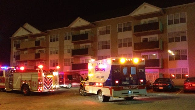 One Shot In Hand At NE OKC Apartment