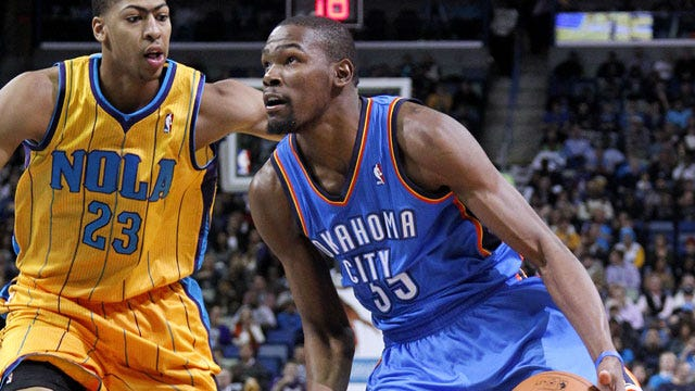 Thunder Blasts Hornets Behind A Barrage Of 3-Pointers