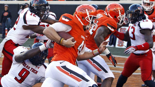 Anderson Shines As Pokes Roll Texas Tech