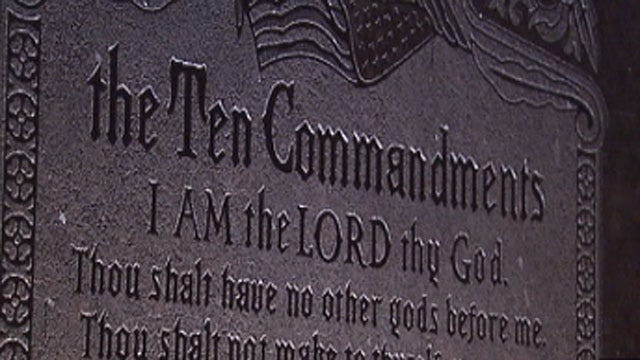 Typos On OK Capitol Ten Commandments Monument Fixed