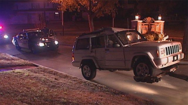 Suspected Drunken Driver Hits OKC Police Cruiser