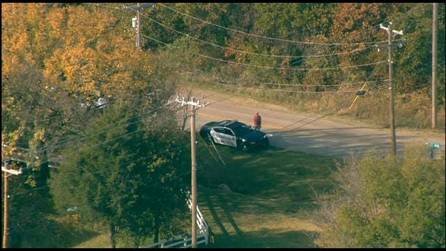 OKC Police Search For Suspect Following Pursuit