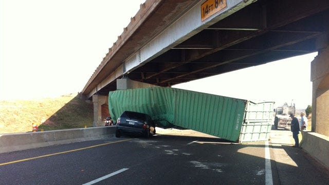 Turner Turnpike Back Open Following Semi Wreck Near Luther Exit