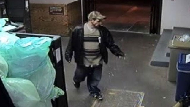 Surveillance Camera Catches Suspect In Hospital Theft In Enid