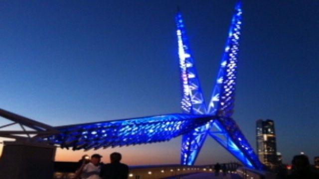 OKC Skydance Bridge Opens Requests For Lighting Changes