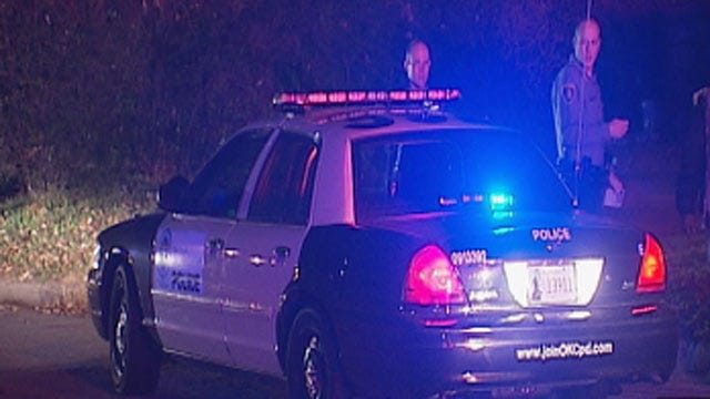 One Injured After Shots Fired From Two Vehicles In NE OKC