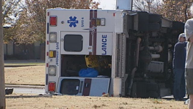 Paramedics Discuss Dangers On The Road After Ambulance Crash