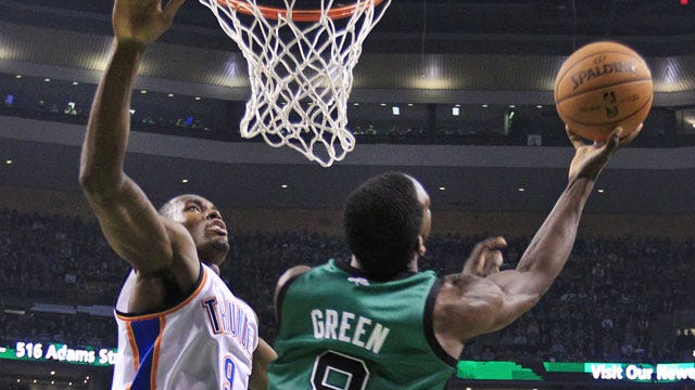 Thunder Comes Up Short In Boston