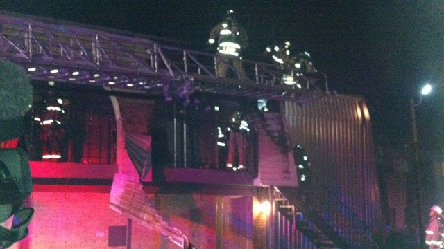 Crews Douse Fire At Apartment Complex In NW OKC