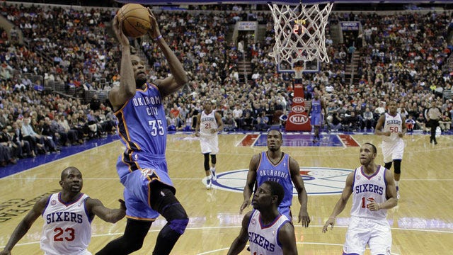 Oklahoma City Takes Down Sixers In Overtime