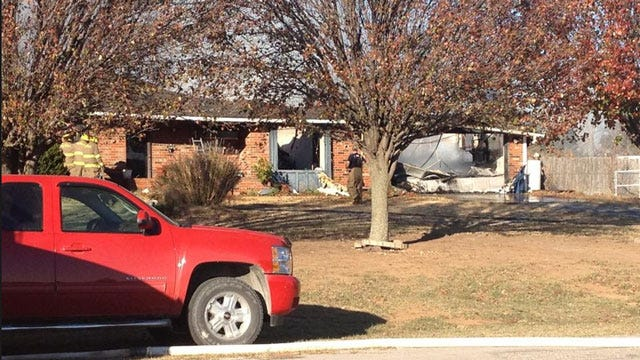 Home In Harrah Completely Destroyed By Fire