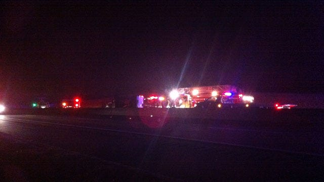 Westbound I-44 Shut Down Again After Second Injury Accident