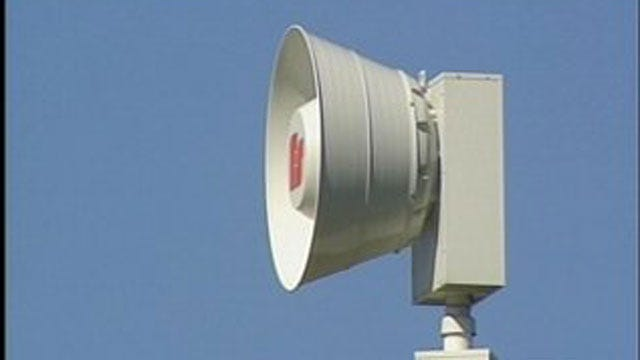 Crews To Test Warning Sirens Today In Del City