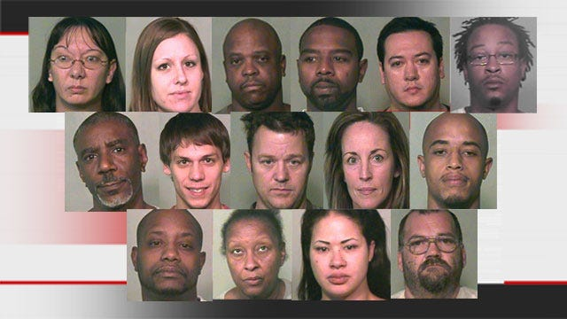Authorities Bust Large Drug Trafficking Ring In Oklahoma County; 17 Arrested