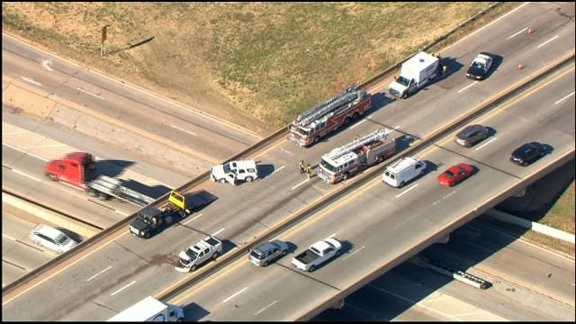 Injury Accident Cleared On Broadway Over I-44 In OKC