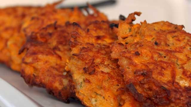 Hanukkah Favorites: Sweet Potato Latke