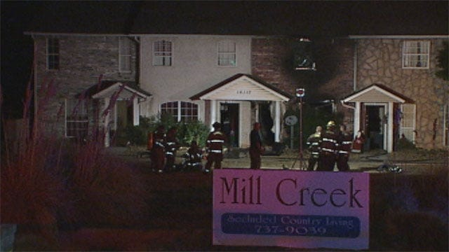 One Killed In Choctaw Apartment Fire