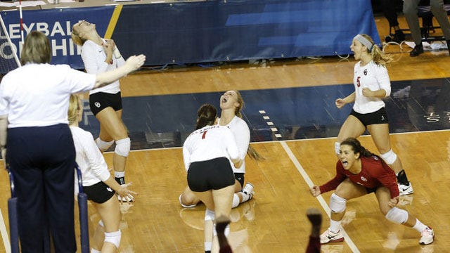 Sooners Advance To NCAA Second Round With Five-Set Win