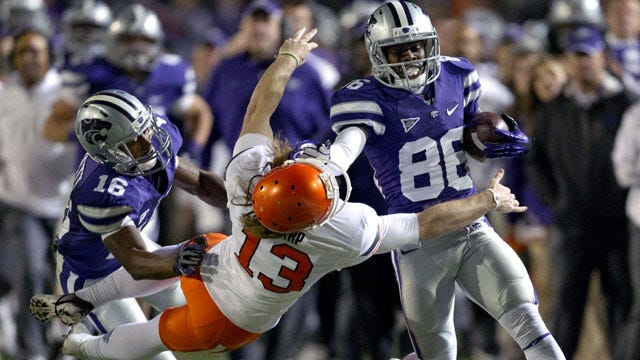 OSU Turns The Ball Over Five Times In 44-30 Loss To No. 2 KSU