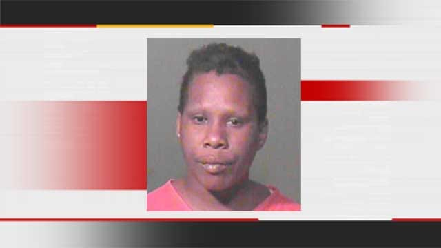 Police Arrest Woman Caught Throwing Lit Gas Can At Northeast OKC House