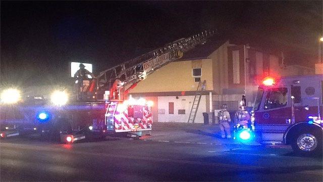 Arson Investigators Looking Into Northwest OKC Fire