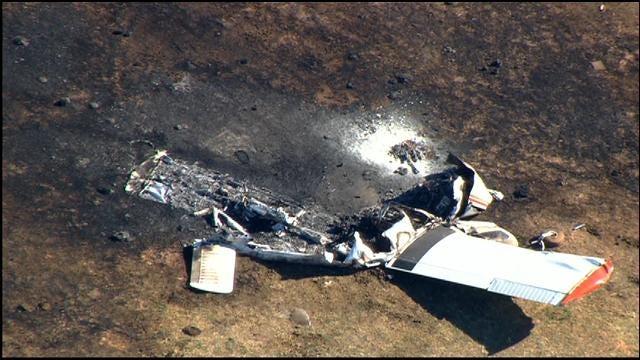 Pilot Dies After Small Airplane Crashes In Anadarko