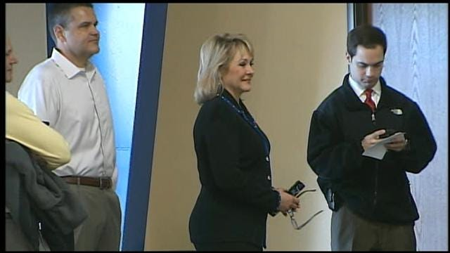 Thousands, Including Governor, Line Up To Vote In Oklahoma