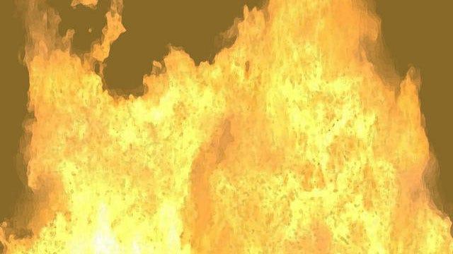 Car Fire Burns Field In Northwest OKC