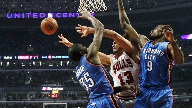 Durant Delivers In Crunch Time To Lead OKC Over Chicago