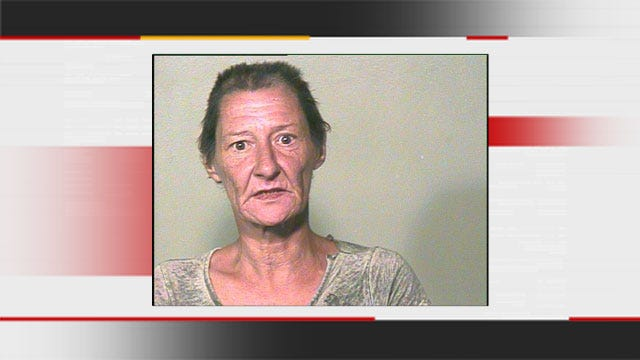 OKC Granny Huffing Paint In Front Of Toddler Grandson Arrested