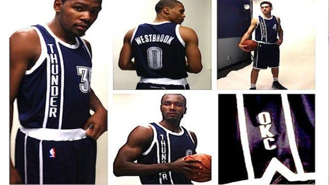 Thunder Debut New Alternate Uniform