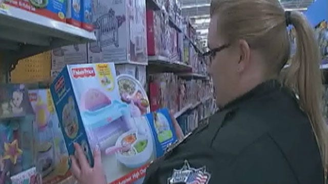Deputies, Police Shop For Oklahoma Kids Being Raised By Grandparents
