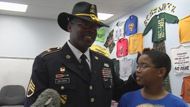 Metro 5th Grader Surprised By Army Dad's Homecoming At School