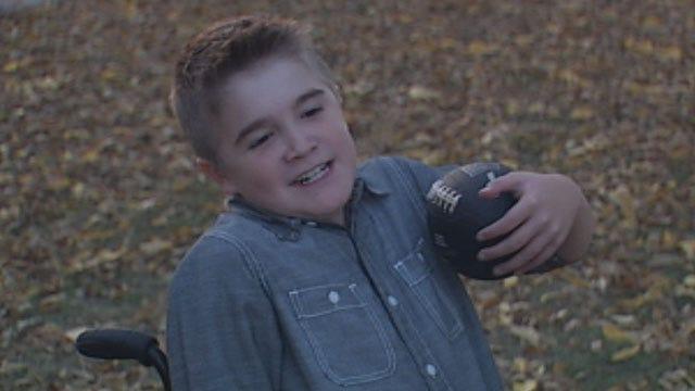 Wheelchair-Bound Prague Boy Fulfills Dream Of Scoring Touchdown