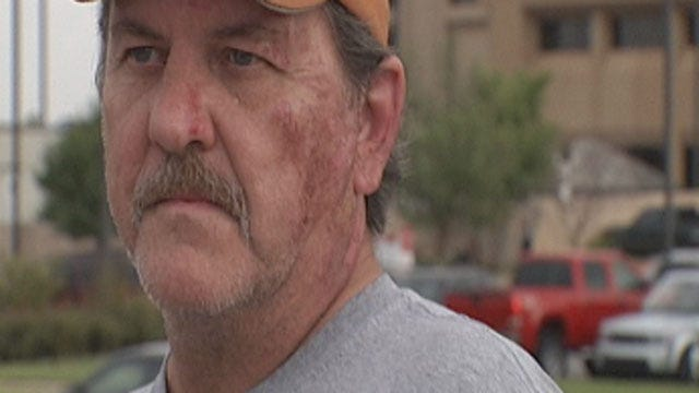 OKC Man Saves Family From Fiery Crash, Woman Clings To Life