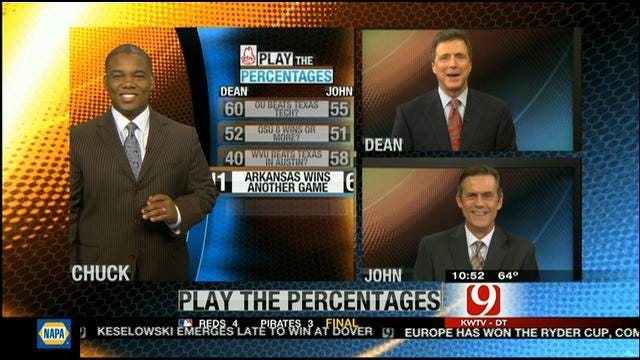 Play The Percentages: September 30, 2012