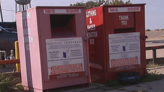 For-Profit Donation Boxes Hurting Salvation Army, Other Charities