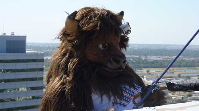 Rumble Goes Over The Edge For Special Olympics Oklahoma