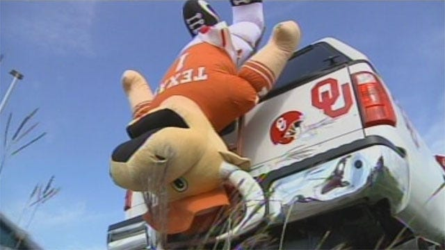 OU Fans Head South For Red River Rivalry