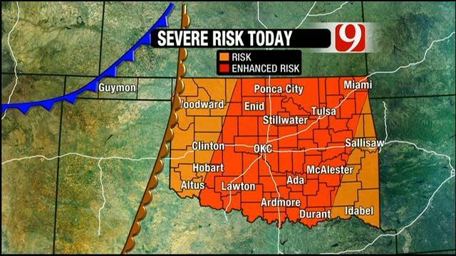 Stormy Weekend In Oklahoma
