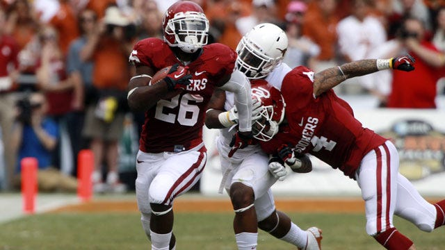 Sooners Run All Over Texas In Red River Romp